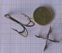 απίκο  Σαλαγκια τετραχαλη [τέσσερις ακίδες] 5 τεμ